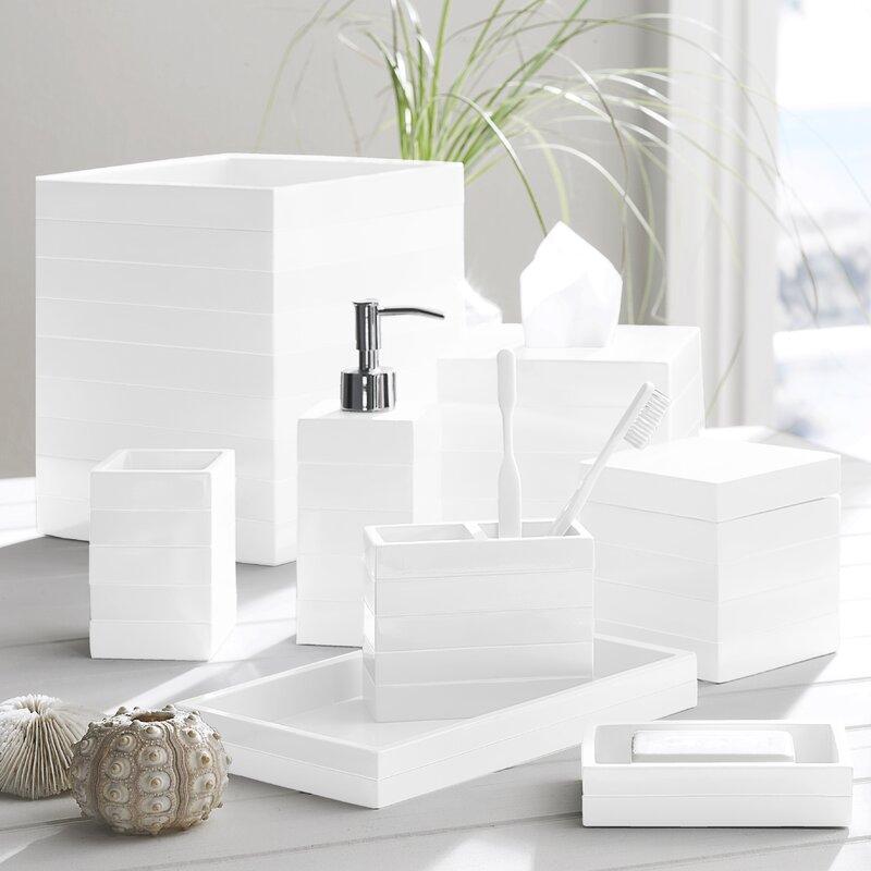 Kassatex Cabana Bathroom Accessory Tray Reviews Wayfair