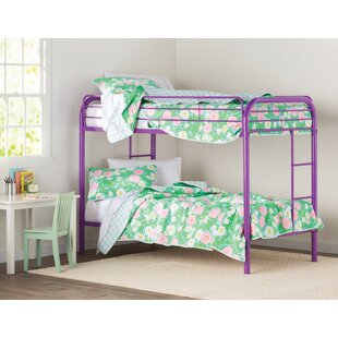 Buy luxury Prism Twin over Twin Bunk Bed by Hokku Designs Reviews (2019) & Buyer's Guide