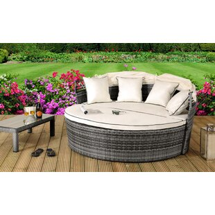 Rebeca Garden Daybed With Cushions By Sol 72 Outdoor