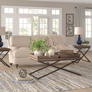 Caleb 3 Piece Coffee Table Set