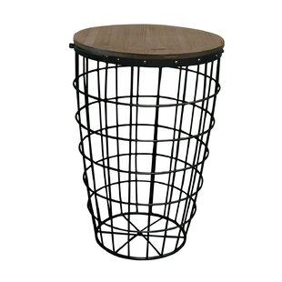 Pflugerville Mini Basket End Table (Set of 2) by Gracie Oaks