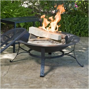 CobraCo Cast Iron Wood Burning Fire Pit