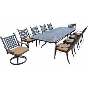 Darby Home Co Arness 16 Piece Bar Height Dining Set