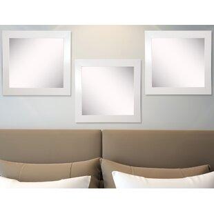 Ebern Designs Waite Wall Mirror (Set of 3)