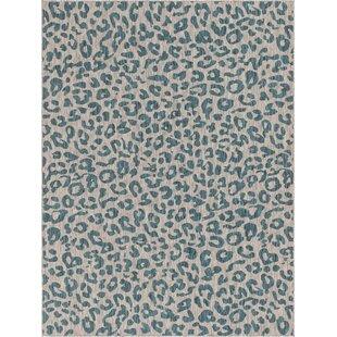 Murph Blue/Gray Indoor/Outdoor Area Rug