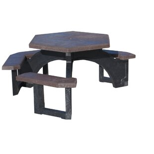 Freeport Park Simms Plastic Picnic Table