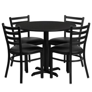 Yunpeng 5 Piece Dining Set by Red Barrel ..