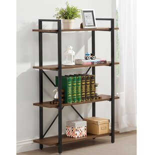 Mccafferty Sturdy Wooden Bracket Etagere Bookcase by Williston Forge