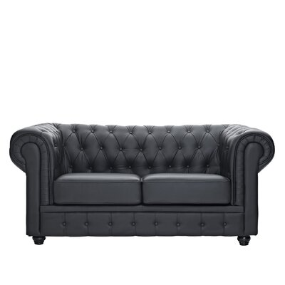 Cool Modway Chesterfield Loveseat Upholstery Black Forskolin Free Trial Chair Design Images Forskolin Free Trialorg