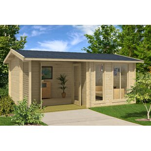 Brighton 17 X 12 Ft. Tongue & Groove Summer House Image