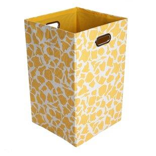 Modern Littles Rusty Giraffe Folding Laundry Hamper