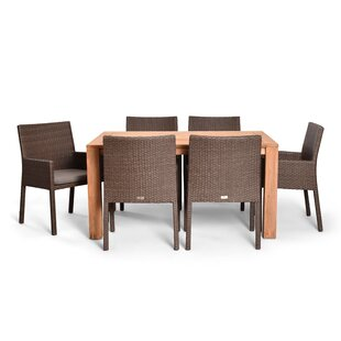 Harmonia Living Arden 7 Piece Teak Dining Set