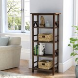 Wilda Etagere Bookcase by Andover Mills™