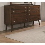 Gallucci 8 Drawer Double Dresser by Union Rustic