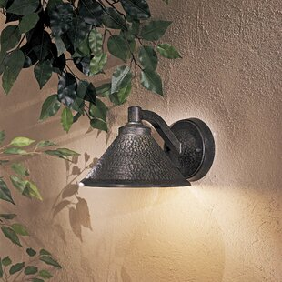 Price comparison Sanmiguel 1-Light Outdoor Barn Light By Bloomsbury Market