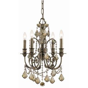 Astoria Grand Suniga 4-Light Candle Style..