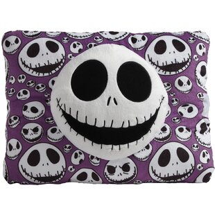 Disney Nightmare Before Christmas Jack Skellington Indoor Throw Pillow