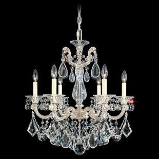 Schonbek La Scala 6-Light Chandelier