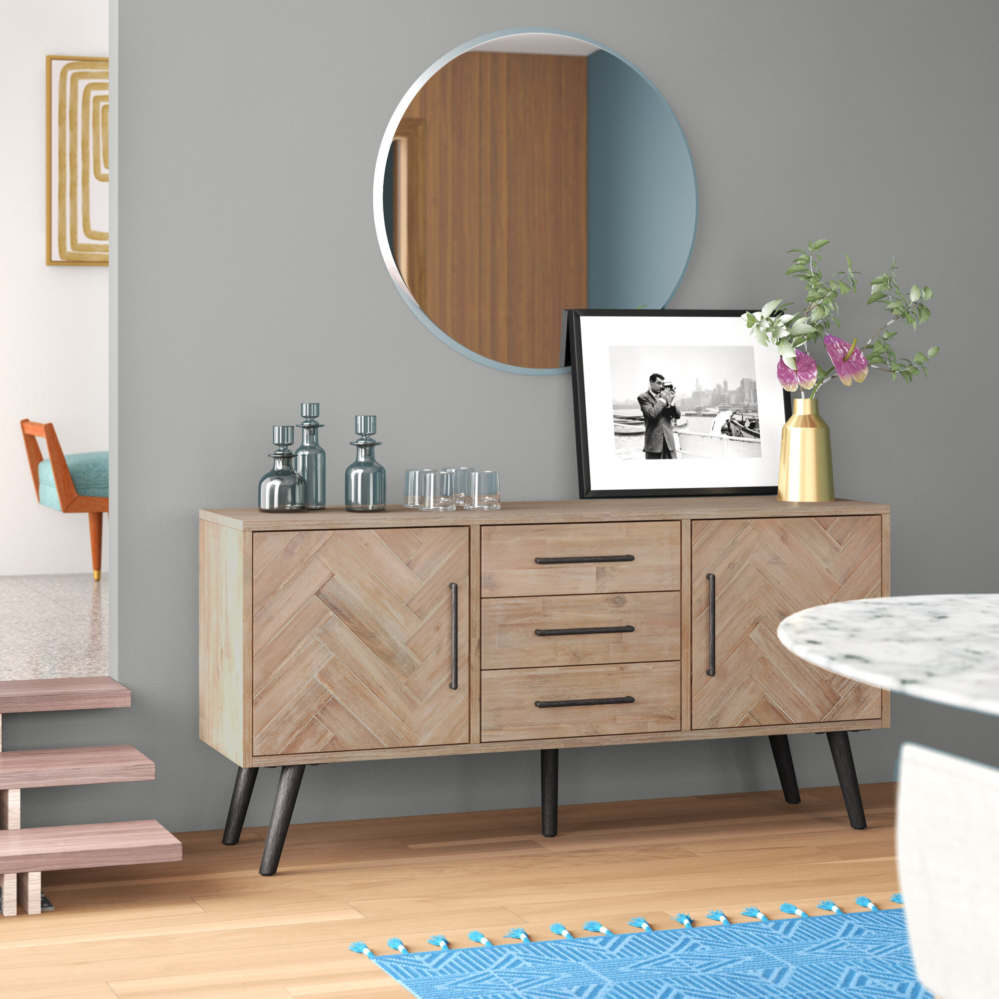 Picture of: Keziah Buffet Table Reviews Allmodern