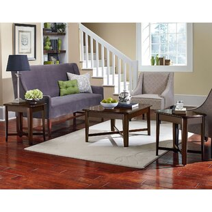 Delavan 3 Piece Coffee Table Set  sc 1 st  Wayfair : cherry coffee table set - pezcame.com
