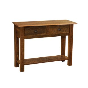 Fireside Lodge Barnwood Console Table