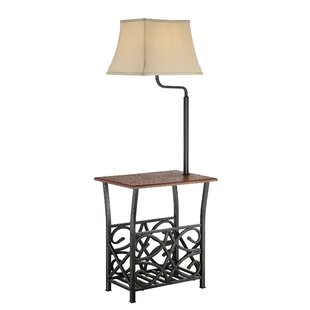 Lamps with a table youll love wayfair batesville 54 swing arm floor lamp aloadofball Image collections