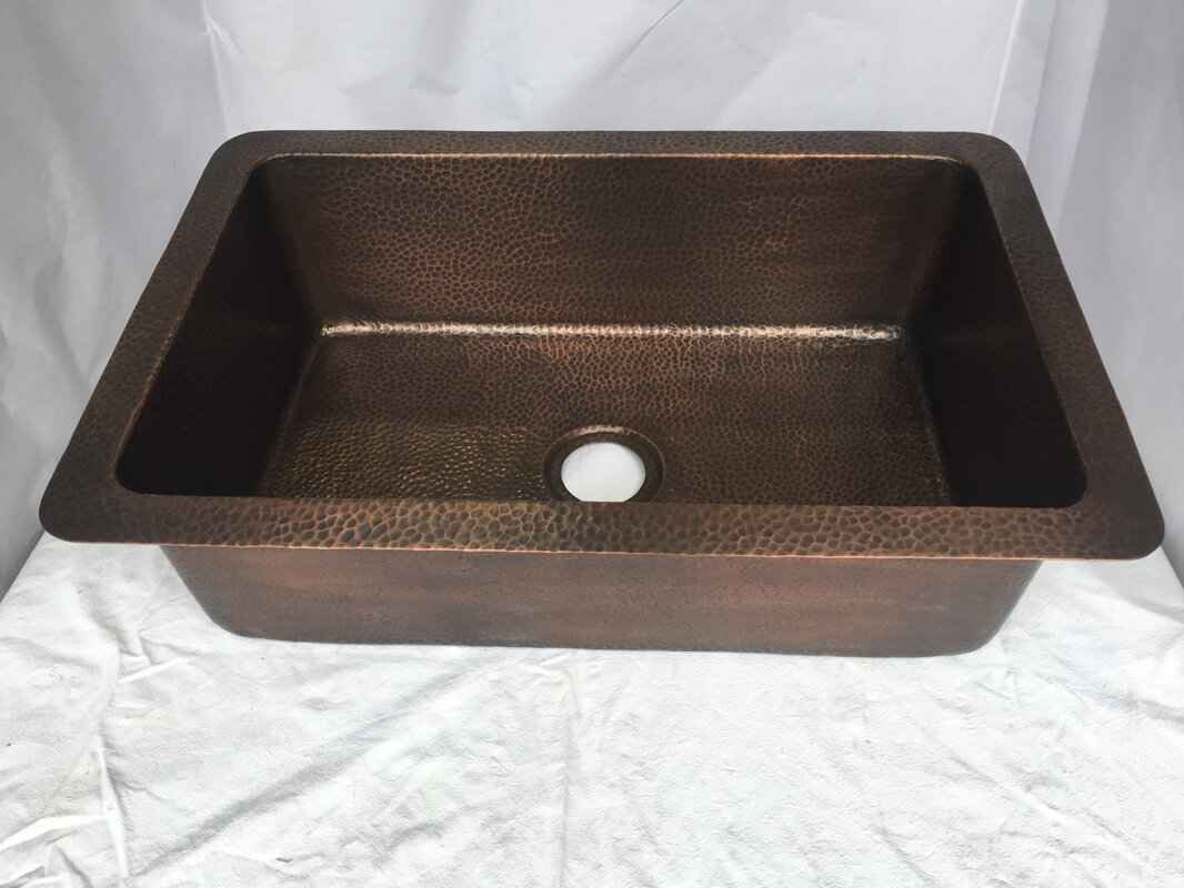The copper factory hand hammered 32 x 21 drop in kitchen sink hand hammered 32 x 21 drop in kitchen sink workwithnaturefo