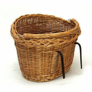 Bicycle Basket With Handle By Alpen Home