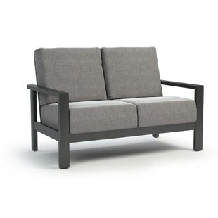 Gagne Loveseat with Sunbrella Cushions