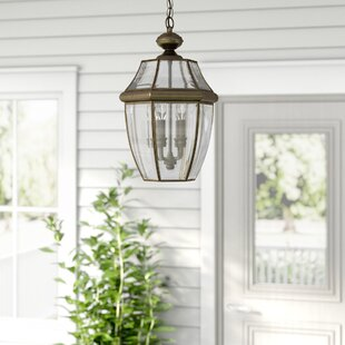 Read Reviews Knudson 3-Light Outdoor Hanging Lantern By Darby Home Co