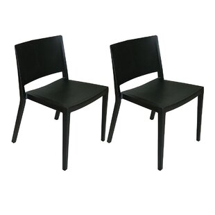 Price comparison Burrus Dining Chair (Set of 2) by Ivy Bronx Reviews (2019) & Buyer's Guide
