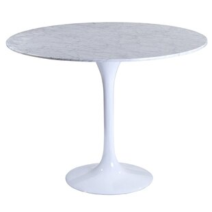 Berkhamstead Marble Dining Table Orren Ellis