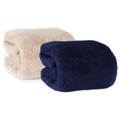 Berkshire Blanket Extra-Fluffy Fabric Throw Berkshire Blanket Color: Confetti