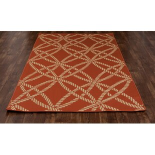 Criner Red Indoor/Outdoor Area Rug