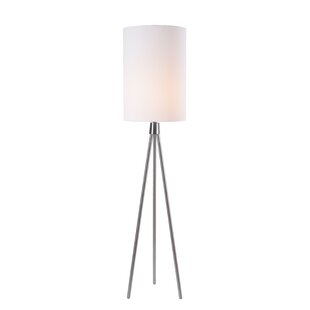 Affordable Price Dahill 61 Tripod Floor Lamp By Ebern Designs