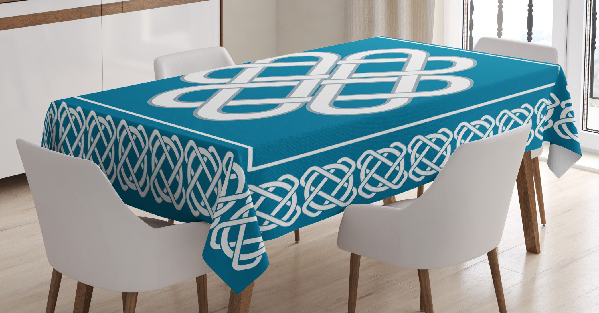 East Urban Home Geometric Tablecloth Wayfair