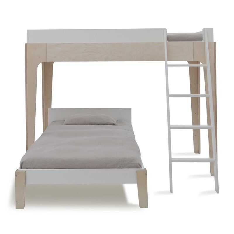 aada95415 Oeuf Perch Twin over Twin Bunk Bed & Reviews   Wayfair