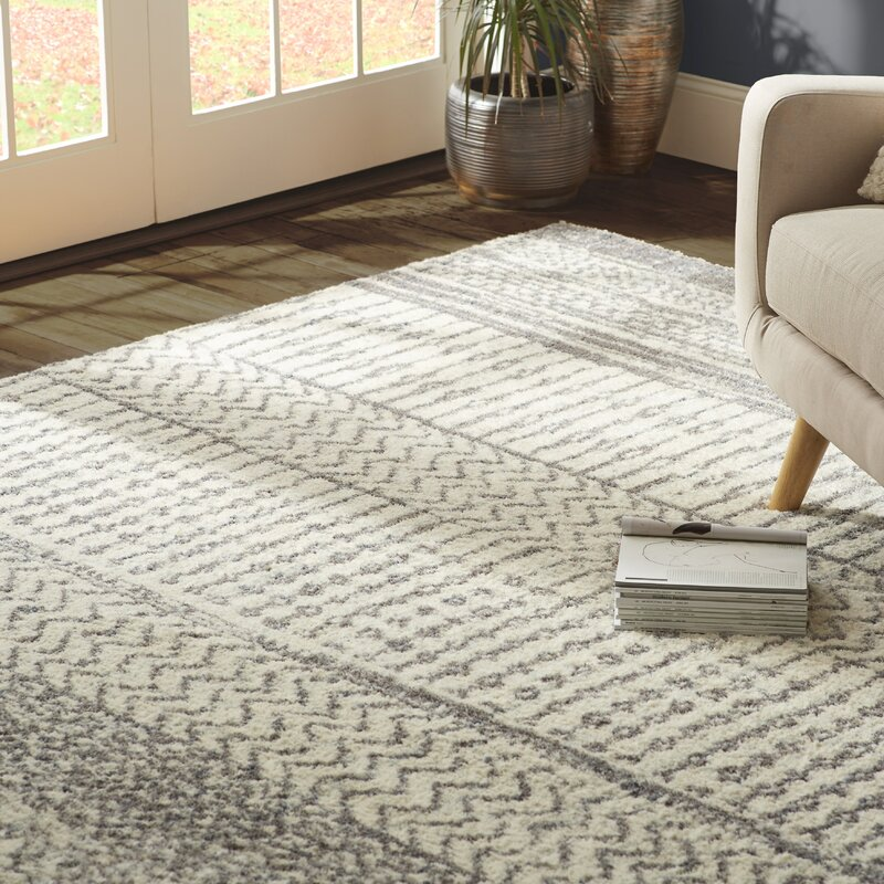 Best Area Rugs, Best Contemporary Area Rugs, Modern Area Rugs, Danny Gray/Ivory Area Rug