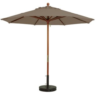 Grosfillex Commercial Resin Furniture 7' Market Umbrella