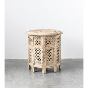 Shaver End Table by Bungalow Rose