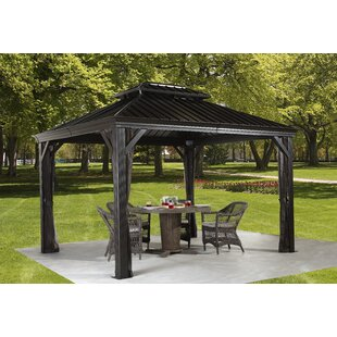 Messina Aluminum Patio Gazebo by Sojag