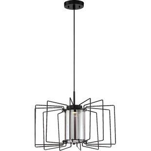 Wrought Studio Barker 1-Light LED Novelty Pendant