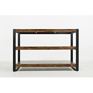 Millwood Pines Camp Contemporary Wooden Console Table