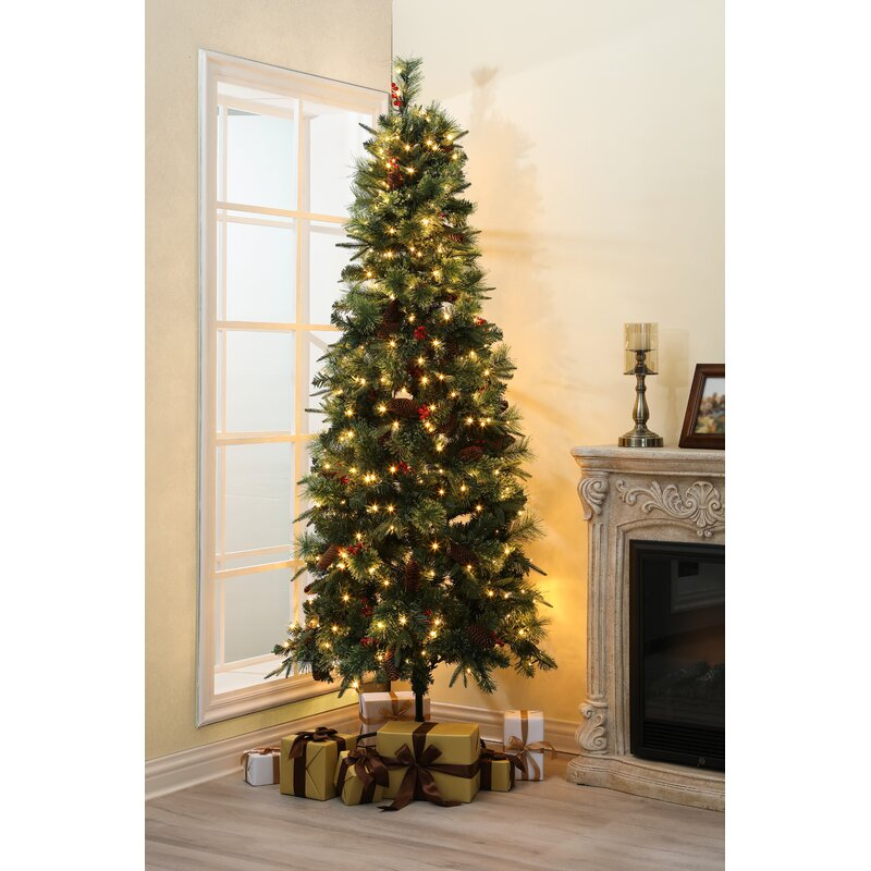 """The Holiday Aisle 7.21"""" Green Pine Artificial Christmas Tree"""