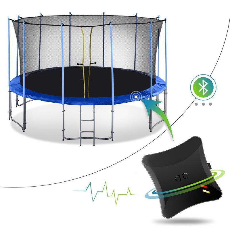 Exacme 16' Round Backyard Trampoline with Safety Enclosure ...