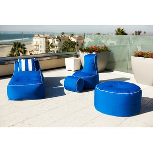 Sunbrella Bean Bag Set by Hip Chik Chairs