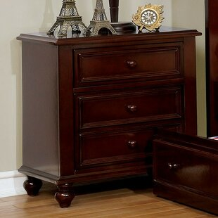 Online Reviews Saltsman 3 Drawer Nightstand by Harriet Bee Reviews (2019) & Buyer's Guide