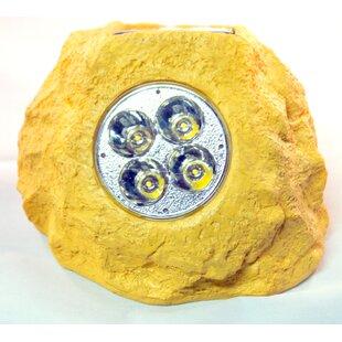 Homebrite Solar 4-Light Spot Light (Set of 4)
