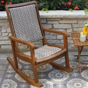 Bay Isle Home Howe Rocking Chair