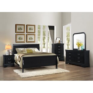 Roundhill Furniture Isony 594 Louis Philippe Configurable Bedroom Set